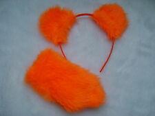 Care Bear Ami ours orange oreilles & Stubby la queue en fourrure synthétique fancy dress new