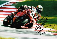Troy Corser SIGNED Autograph 12x8 Photo AFTAL COA WSB Superbike World Champion