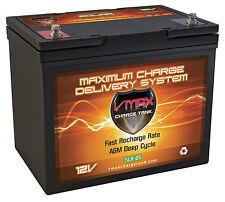 VMAX SLR85 12 Volt 85Ah AGM SLA High Performance Battery for Solar Wind Storage