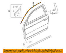 HONDA OEM Civic EXTERIOR TRIM-DOOR-Belt Weather Strip Tape Left 67365S5SE00