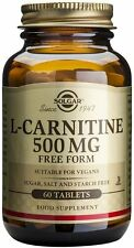 L-Carnitine, Solgar, 60 tablet 500 mg