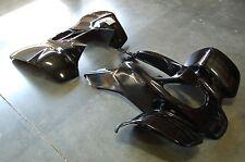 HONDA TRX 400EX 99 - 04 BLACK PLASTIC FRONT AND REAR FENDER SET TRX400EX