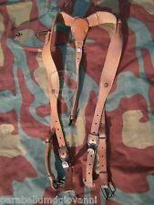 Spallacci pelle marroni Luftwaffe, originali, economici original leather straps