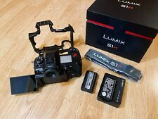 Panasonic LUMIX S1H 24.2MP Full-Frame Mirrorless Digital Camera (Body Only)