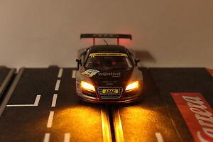 LED Carrera Digital Beleuchtung gelb/rot mit Stecker ohne Löten (neuer style3)