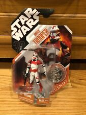 2007 SHOCK TROOPER Star Wars 30th Anniversary Collection TAC Saga Legends w/Coin
