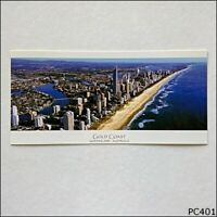 Gold Coast Queensland Australia Aerial View Looking North Postcard (P401)