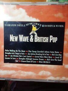 Various - New Wave & British Pop  – CD - MAN-1347