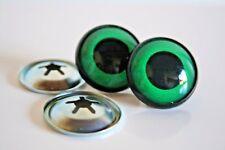 Ojos de seguridad verdes 18 mm para osos de peluche amigurumi juguetes animales