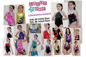 Lilachelene Lucky Dip - Girls Gymnastics Leotard 24,26,28,30,32,34,36,38
