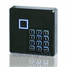 Home Access Control RFID Keypad Reader Card Proximity Wiegand 26 Weatherproof