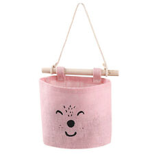 Cute Kitchen Bathroom Sundries Storage Wall Bag Pockets Hanging Pouch Organizer
