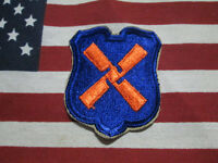 US ARMY WW2 WWII 12TH CORPS XII CORPS COLOR SSI PATCH C/E