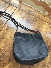 womens purses and handbags/Leather Co Black Leather Shoulder Bag