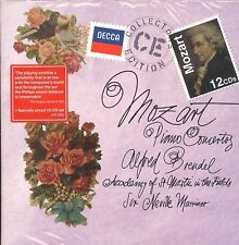 Academy of St Martin in the Fields MOZART Piano COncertos box CD NEW Marriner