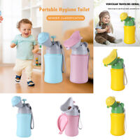 Portable Urinal Toilet Potty Training Baby Kid Toddler Boys Girls Car Travel Pee