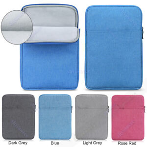 """For Apple iPad Pro 11.0"""" 2020 2018 7th 10.2"""" Zipper Tablet Sleeve Bag Case Cover"""