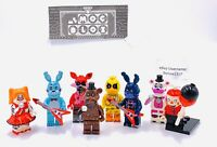 Five Nights At Freddys (NEW) Custom Figure Set ((US SELLER - FITS LEGO))