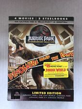 Jurassic Park: 25th Anniversary Collection (DVD, SteelBook 4K Ultra HD...