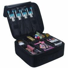 Relavel Travel Makeup Train Case Makeup Cosmetic Organizer ARTIST STORAGE BAG !!