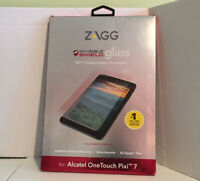 NEW ZAGG Invisible Shield Glass HD Screen Protector for Alcatel One Touch Pixi 7