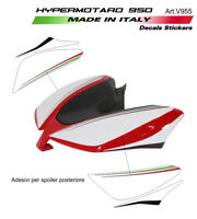 Adesivi spoilerino posteriore design 2019 - Ducati Hypermotard 950