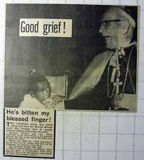 1970 Cardinal John Krol Bitten In Philadelphia By Three-year-old Ronnie Brooks