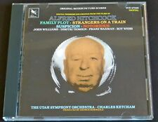 MUSIC FROM ALFRED HITCHCOCK FILMS Score CD John Williams Franz Waxman VARESE OOP
