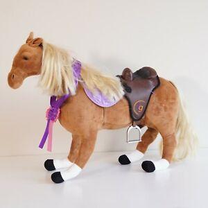 Journey Girl Large Free Standing Fashion Pony Horse Plush