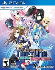 Superdimension Neptune VS Sega Hard Girls Brand New North America Version