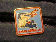 Capitol Trail Baton Rouge, La. Hat Pin     c78