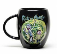 Rick and Morty  Portal CREST OVAL MUG 15OZ CERAMIC CUP MGO0011 GIFT BOXED