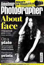 Amateur Photographer magazine with Nikon 24-70mm F2.8 E ED VR   9th January 2016