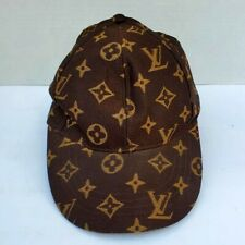 Louis Vuitton Brown Canvas Baseball Cap