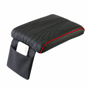 Armrest Cushion Cover Leather Car Interior Center Console Box Pad Mat Protector