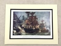 1902 Aufdruck Britisches Kriegsschiff Hms Majestic Battle der Nil Royal Navy