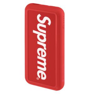 SUPREME MOPHIE POWERSTATION PLUS XL (RED) SS21 SNAKESKIN JACQUARD LOGOS BEANIE