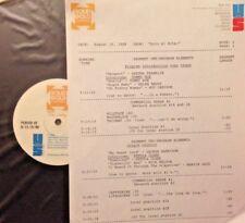 RADIO SHOW:SOLO #1 8/16/88 ROY ORBISON, GEORGE HARRISON, JANIS JOPLIN, PET CLARK