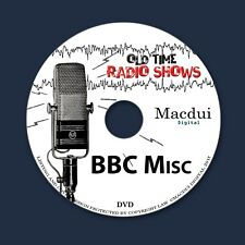 BBC Miscellaneous Old Time Radio Shows Variety 3 OTR MP3 Audio Files 1 Data DVD