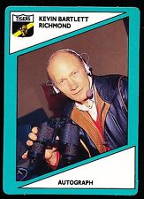 1988 Scanlens Stimorol Richmond Tigers Kevin Bartlett Football Card No 132 r