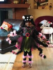 Cute Spider Costume girls 4T-5T for Halloween