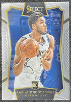Karl Anthony Towns 2015-16 Panini Select Concourse #16 Minnesota Timberwolves RC