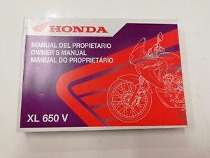 Manual Uso Mantenimiento Multilinguismo HONDA XL 650V Transalp 2002