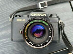 Chinon CE-4 camera plus extras
