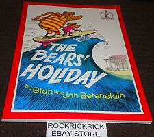 DR. SEUSS BOOK-THE BEARS' HOLIDAY (ORIGINALLY THE BEARS VACATION IN THE US) RARE