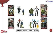 SPIDER-MAN MARVEL  LEGENDS Green Goblin Hasbro  Build a figure 4 TYPES   BNIB