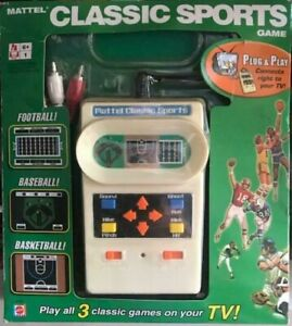 Classics Sports Plug and Play by Mattel