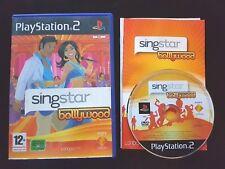 SingStar Bollywood - PlayStation 2 - Free, Fast P&P! - Sing Star, Singing, Music