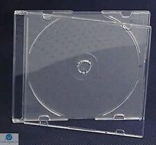 200 Solo Cd Jewel Funda Ultra Slim 5.2 Mm Esmerilado Transparente vacío de reemplazo Hq Aaa