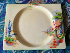 Royal Staffordshire Clarice Cliff design Biarritz plate